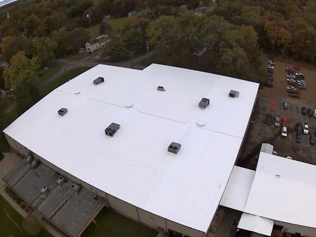 roof coatings after painting