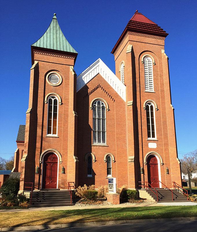 First Presbyterian Church | Expert Exterior Painters Kalamazoo, MI | Van Tuinen Painting