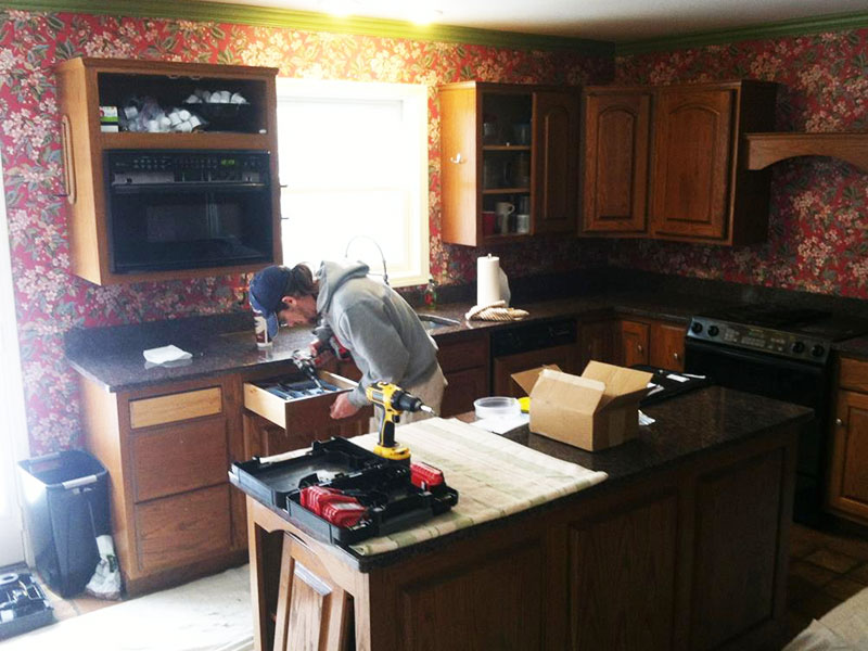 Cabinet Kitchen Refinishing Painting Kalamazoo, MI | Van Tuinen Painting