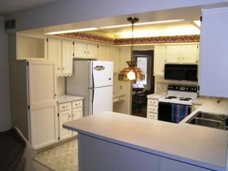 kitchen cabinetry painting in progess | Cabinet Kitchen Refinishing Painting Kalamazoo, MI | Van Tuinen Painting