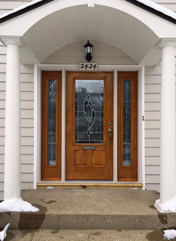 Exterior Front Door Home Painters Kalamazoo, MI | Van Tuinen Painting
