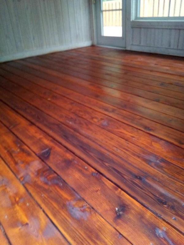 Professional Floor/Porch Staining Southwest, MI | Van Tuinen Painting