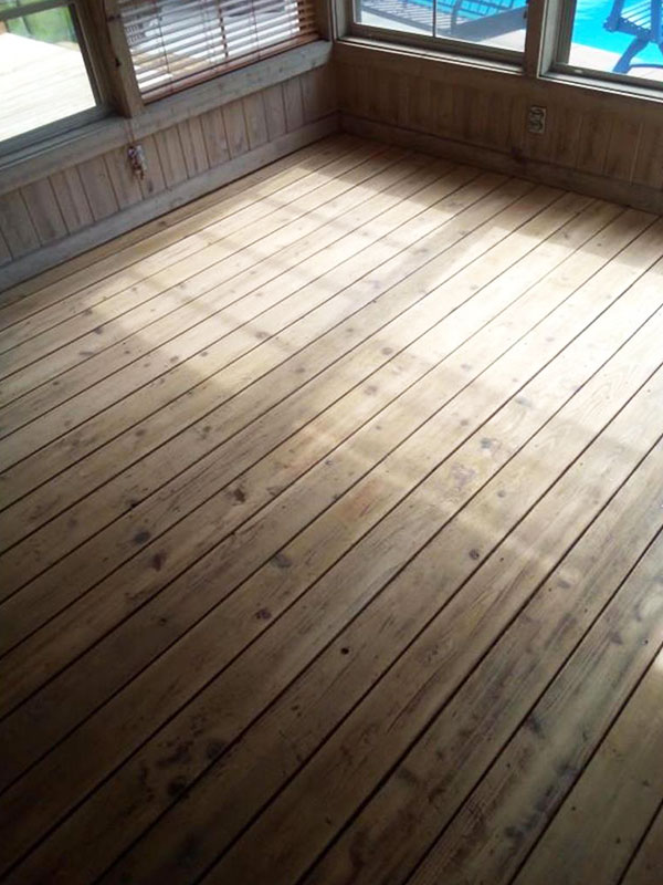 BEFORE | Professional Floor/Porch Staining Southwest, MI | Van Tuinen Painting