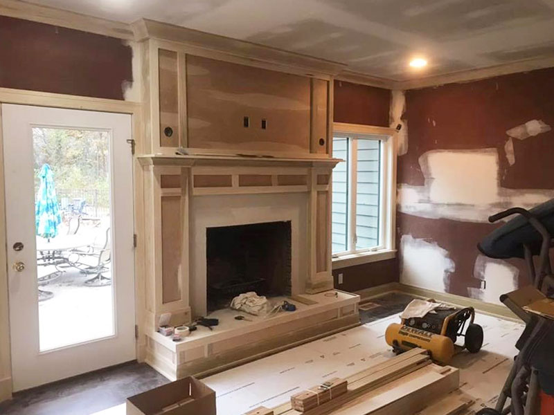 Fireplace Painting Southwest, MI | Van Tuinen Painting