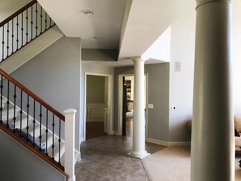 Entry Way Professional Interior Painters Kalamazoo, MI | Van Tuinen Painting