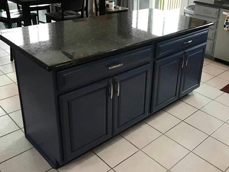 Black Kitchen Cabinets | Kitchen Painters Southwest, MI | Van Tuinen Painting