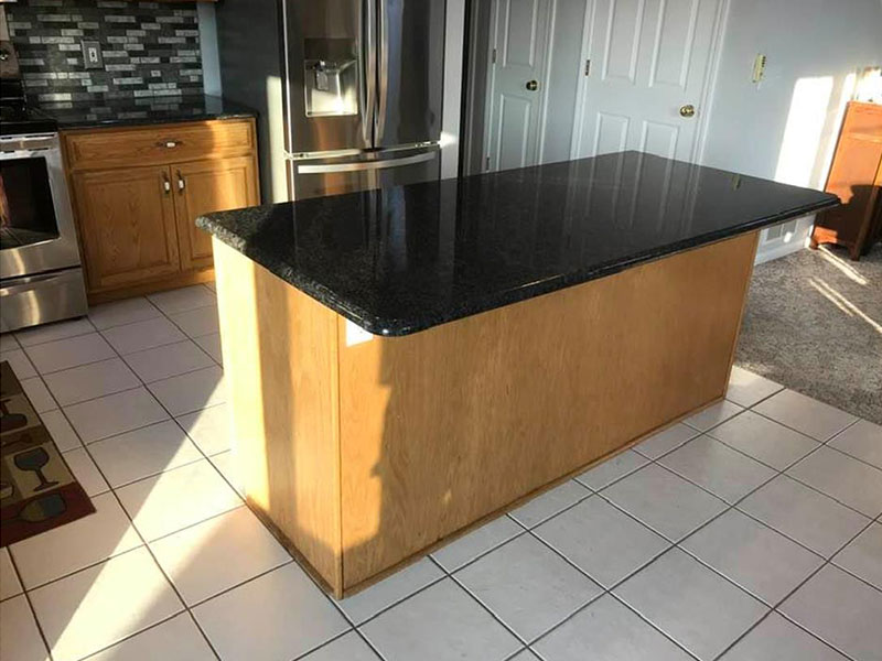 Kitchen Painters Southwest, MI | Van Tuinen Painting | kitchen before painting